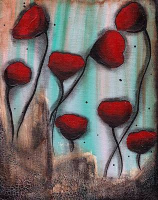 Painting - Poppies by  Abril Andrade Griffith