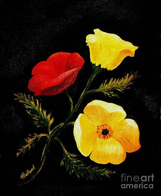 Painting - Poppies by Hazel Holland