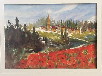Painting - Poppies In Bloom by Heidi Patricio-Nadon
