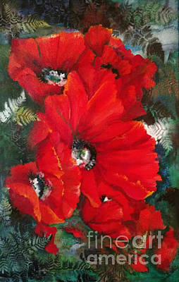 Painting - Poppies In Light by Pamela Shearer