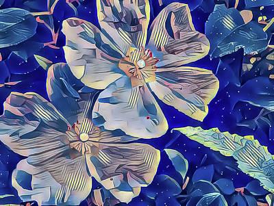 Mixed Media - Poppies by Jonathan Nguyen
