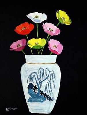 Painting - Poppies by Joseph Frank Baraba