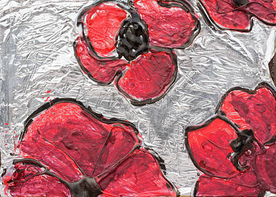 Remembrance Mixed Media - Poppies by Kellyn Baron