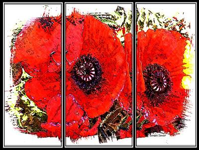 Photograph - Poppies by Lenore Senior
