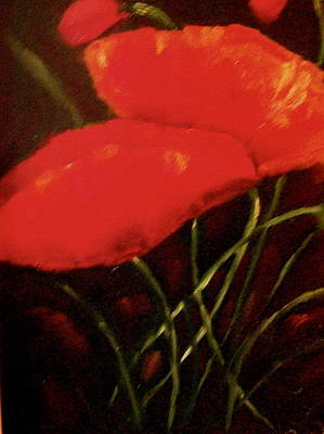 Painting - Poppies by Marie Hamby