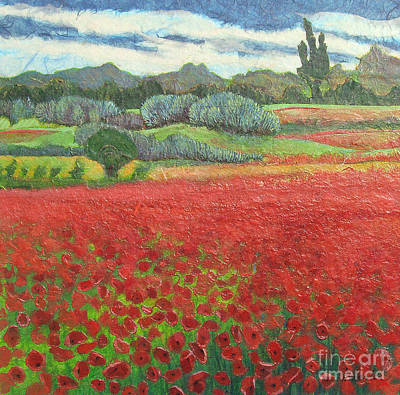 Poppies Original by Pamela Iris Harden