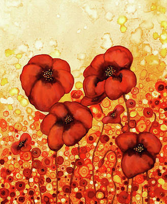 Painting - Poppin' Poppies by Jennifer Allison