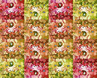 Photograph - Popping Petunia Pattern by Nina Silver