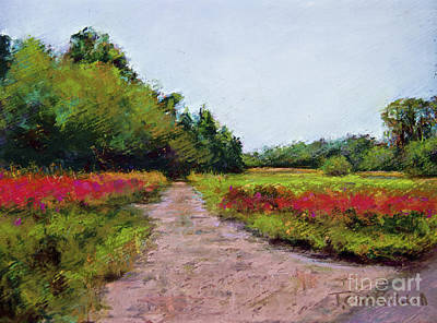 Pastel - Poppu Field, France.raw by Joyce A Guariglia