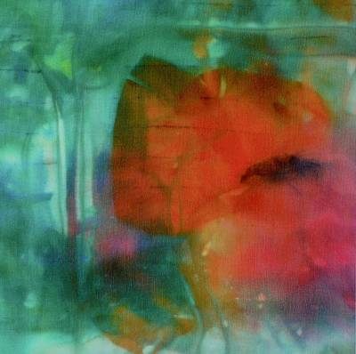 Painting - Poppy 1 by Barbara Pease
