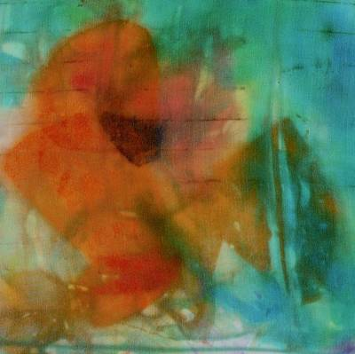 Painting - Poppy 2 by Barbara Pease