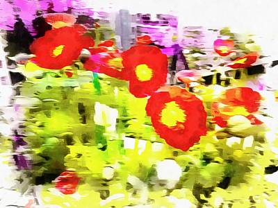 Photograph - Poppy Abstract Thoughts by Dorothy Berry-Lound