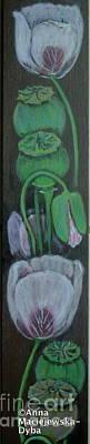 Painting - Poppy by Anna Folkartanna Maciejewska-Dyba