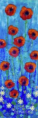 Painting - Poppy Dance by Amy Stielstra