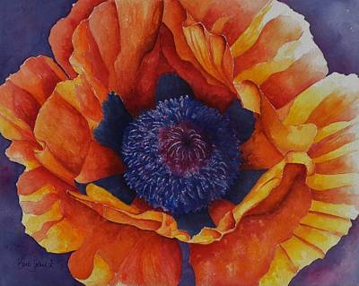 Painting - Poppy Exclamation by Barb Toland
