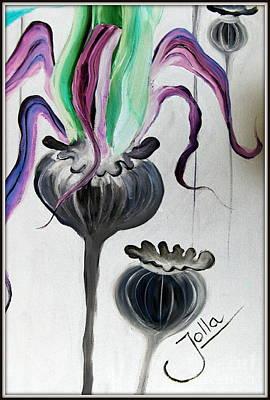 Painting - Poppy Fantasy.. by Jolanta Anna Karolska