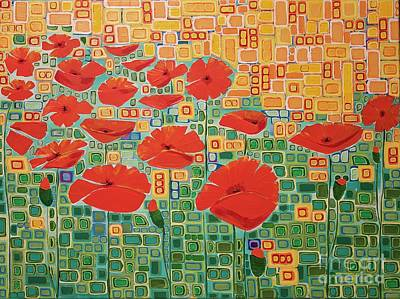 Painting - Flanders Field by Donna Howard
