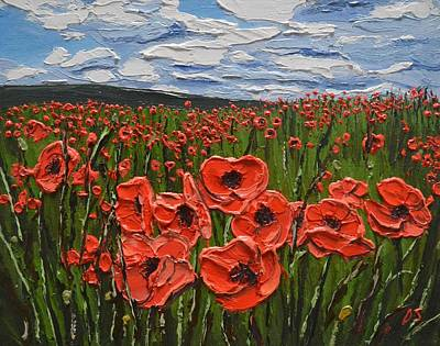 Painting - Poppy Field, Kent by Diana Shephard