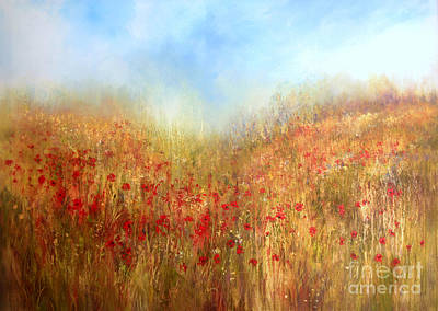 Painting - Poppy Field by Valerie Travers