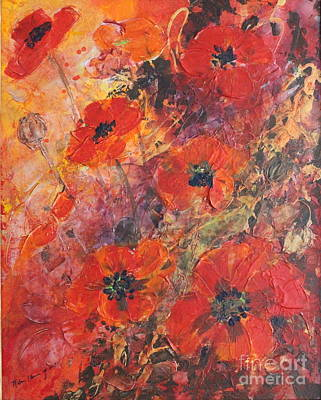 Painting - Poppy Glow by Melanie Stanton