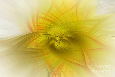 City Scenes - Poppy in Abstract by Irene Dowdy