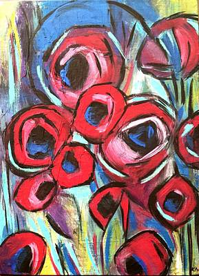 Painting - Poppy Love 1 by Nikki Dalton