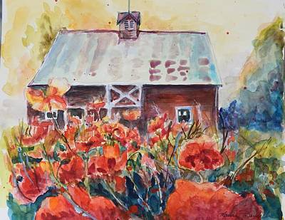 Painting - Poppy Morning by P Maure Bausch
