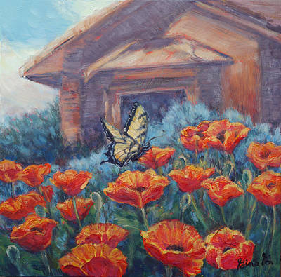 Painting - Poppy Paradise by Gina Grundemann