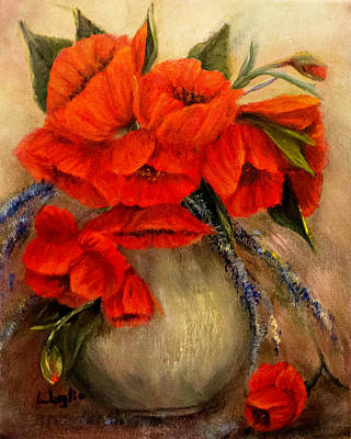Painting - Poppy Passion by Loretta Luglio