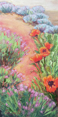Painting - Poppy Pathway by Gina Grundemann