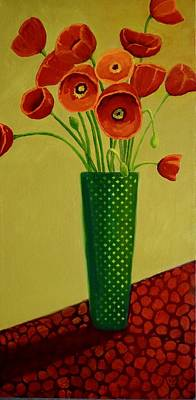 Painting - Poppy Power by Nancy Jolley