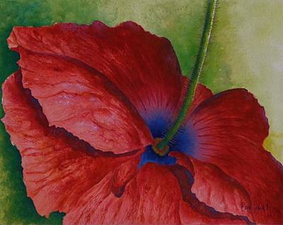 Painting - Poppy Remembrance by Barb Toland