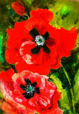 Poppy Season Art Print