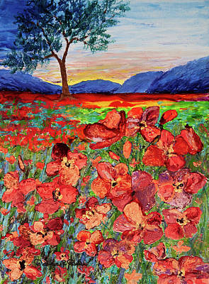 Painting - Poppy Sunset by Patricia Beebe