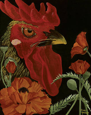 Painting - Poppycock by Jaime Haney