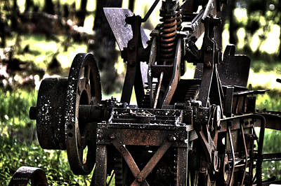 Photograph - Pops Plow by Lesa Fine