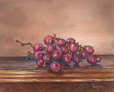 Painting - Popsies Table by Wendy Winbeckler Kanojo