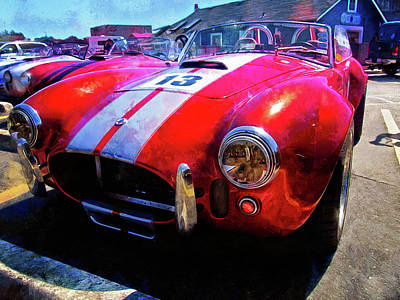 Photograph - Popular Classic Sports Car - Shelby Cobra by Thom Zehrfeld