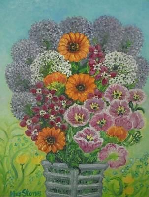 Popular Garden Flowers In A Vase Original