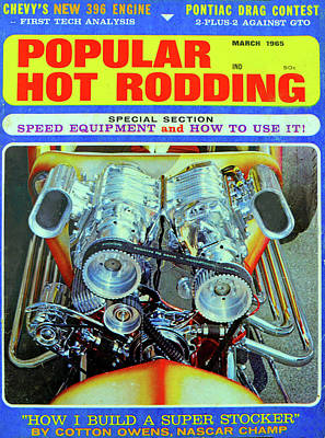 Photograph - Popular Hot Rodding 1965 by David Lee Thompson