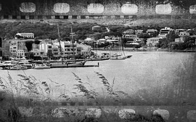 Photograph - Por Mahon Vintage Style Minorca - Menorca by Pedro Cardona Llambias