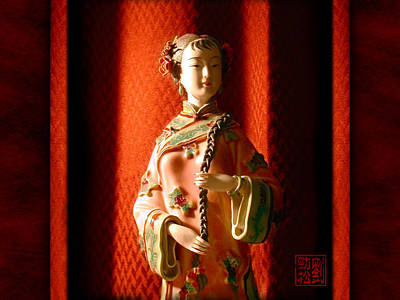 Photograph - Porcelain Figure by Geoffrey C Lewis