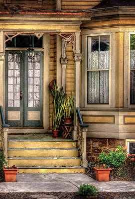 Porch - House 109 Art Print by Mike Savad