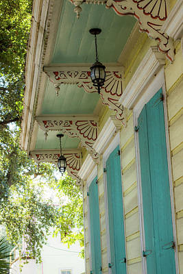 Photograph - Porch In New Orleans by Alexis Lee Scott