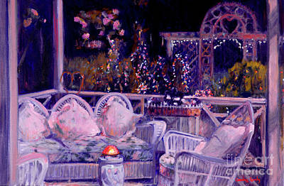 Painting - Porch Lights by Candace Lovely