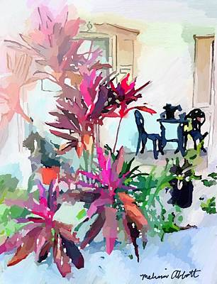 Painting - Porch On Banana River Drive, Merritt Island, Fl by Melissa Abbott