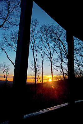 Photograph - Porch Sunset by George Taylor