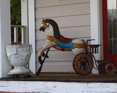 Photograph - Porch Toys by Jacqueline  DiAnne Wasson