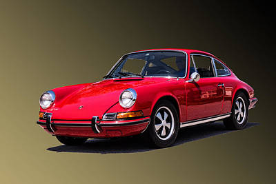 Photograph - Porsche 911 by T Guy Spencer