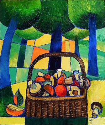 Painting - Porcini by Mikhail Zarovny